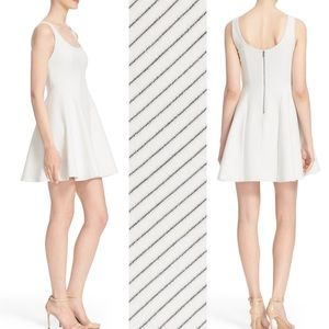 Alice + Olivia Sadie Fit And Flare Dress